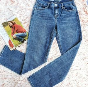 Old Navy Mid-Rise Straigth Blue Jeans